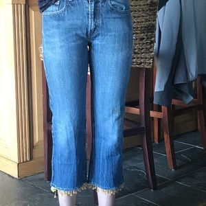 customized vintage levi jeans